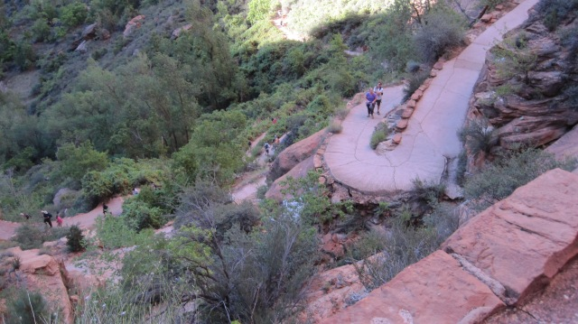 I thought these were the switchbacks everyone talked about. Wrong!