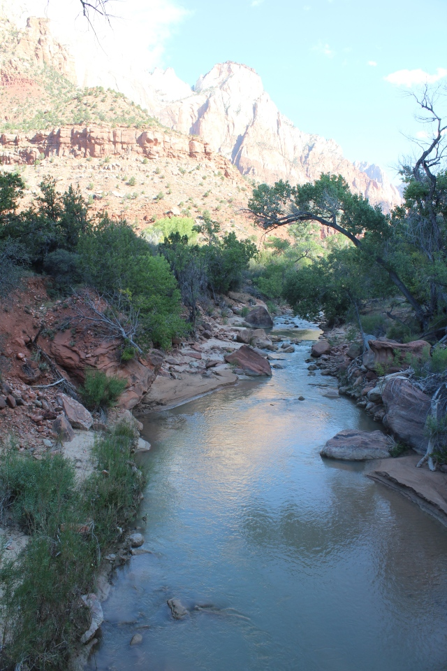 Another shot down the Virgin River. Every time you turn around, there is another awesome view!