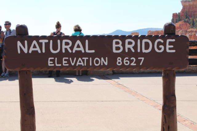 What's a National Park without a natural bridge?!