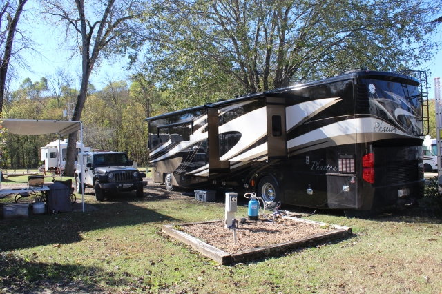 Home at Turkey Creek Escapee RV Park in Branson, MO