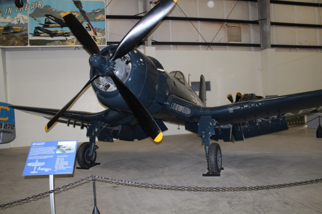"My favorite at the air museum. Made me break out in song, ""We are poor, little lambs, who've lost our way. Baa, baa, baa…"""