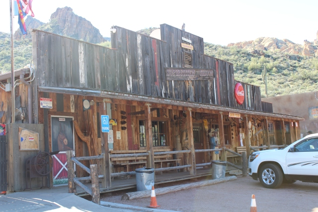 The Superstition Saloon at Tortilla Flat