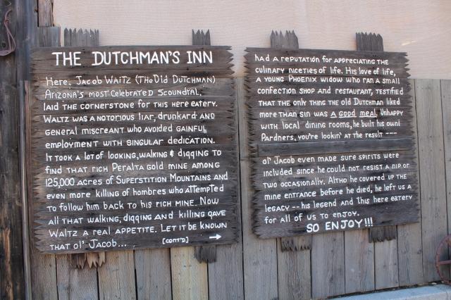The legend of the Dutchman's Inn.