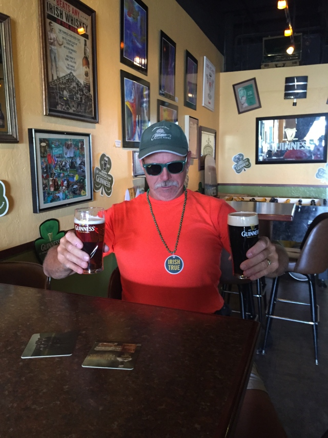 Happy St. Patrick's Day from a 2-fisted drinker!