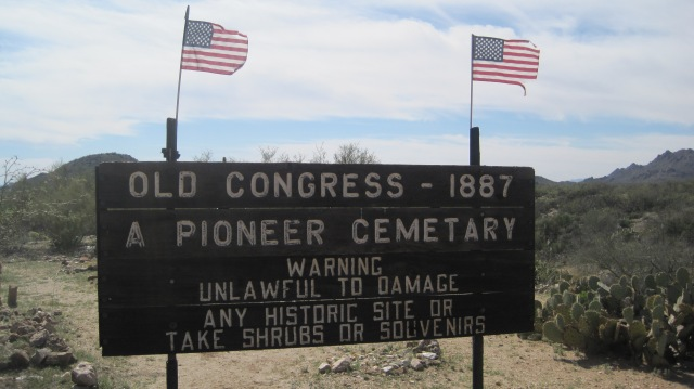 The Pioneer Cemetery.