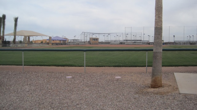 This park actually has a softball field!