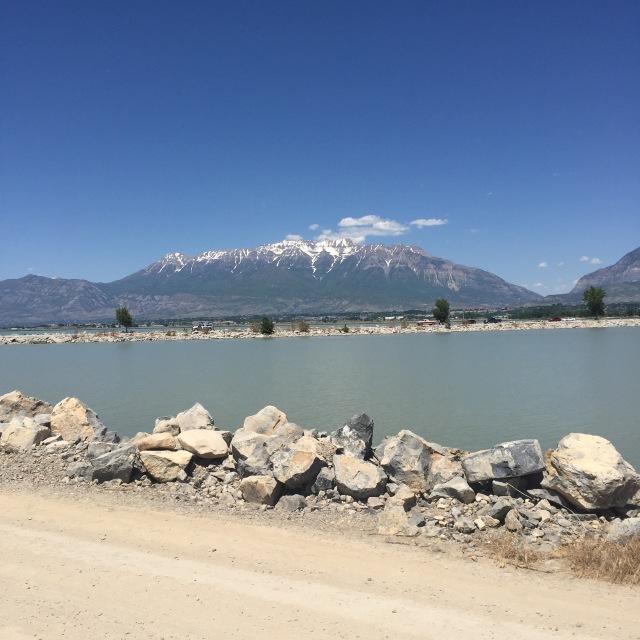 A shot across Utah Lake.