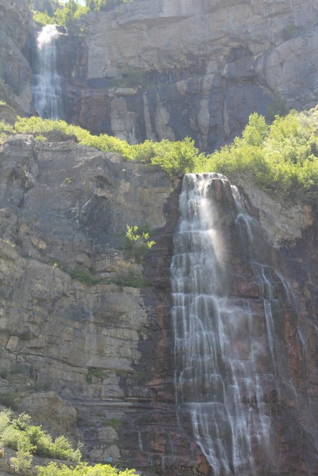 Bridal Veil Falls at the Provo/Jordan River.