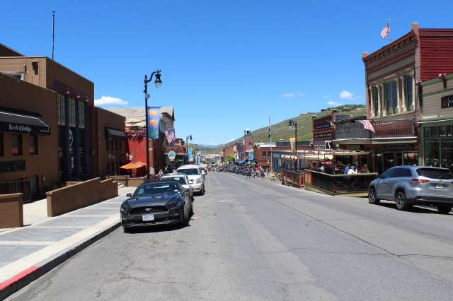 Old Main St. in Park City