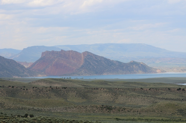 Kinda why they named it Flaming Gorge, don't you think?