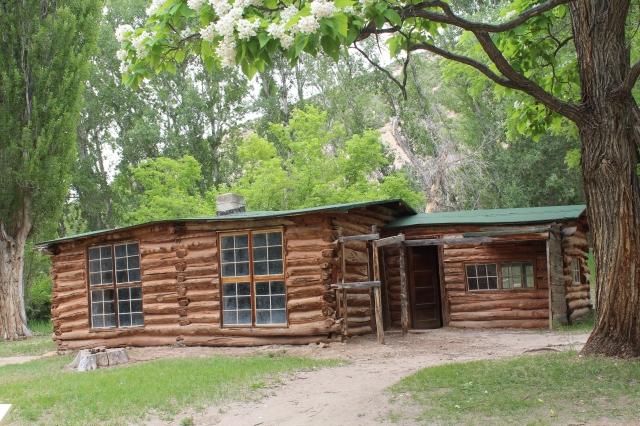 Josie Morris' cabin