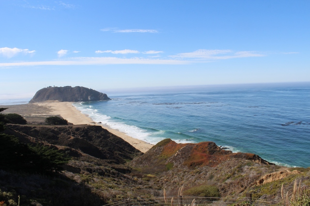 OK, there's the water. Looking south toward Point Sur.
