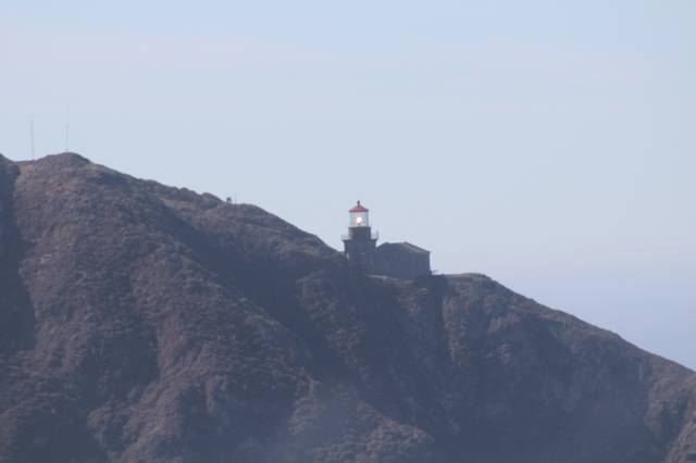 The lighthouse at Point Sur.