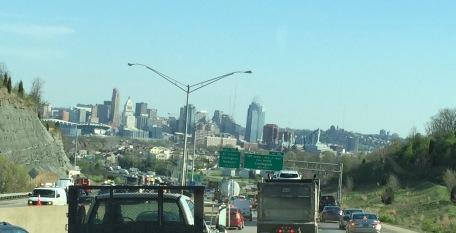 Welcome to downtown Cincinnati...