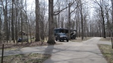 Our home at Mammoth Cave Nat'l Park campground.