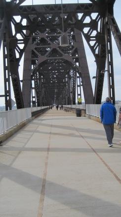 New bridge on old bridge...