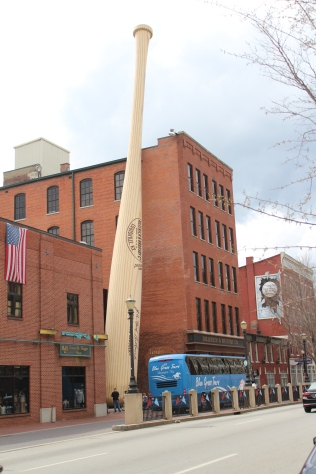 Home of the Louisville Slugger.