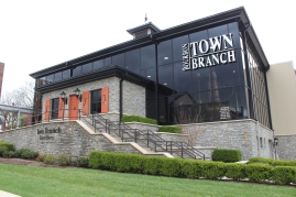 The Town Branch Distillery on the big 10 Kentucky Bourbon Trail.
