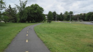 Part of the Mt. Vernon Trail that we rode into Alexandria on.