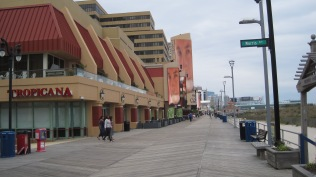 They are not exactly lined up out the door to get into casinos like the Tropicana here on the boardwalk.