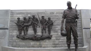 More of the Korean War Memorial.