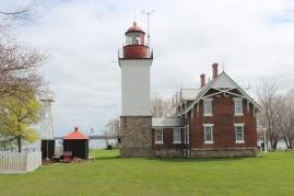 The Dunkirk Lighthouse.