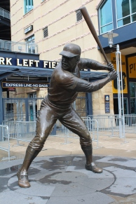 Willie Stargell, guarding the gate.
