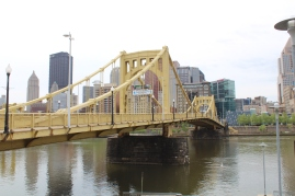 The Great One's bridge, leading to downtown.