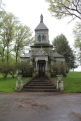 Just one example of some pretty fancy resting places at the Allegheny Cemetery.