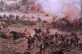 """They have what they call a Cyclorama which is a 360 degree oil canvas painting depicting a moment during the war. """"Awe inspiring"""" does not do it justice..."""