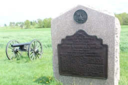 There are some 1,300 markers/monuments placed about the battlefield in the locations where events took place.