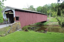 White Rock Forge covered bridge.