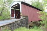 Bucher's Mill covered bridge. Gee, are they all looking the same yet?