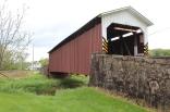 Weaver's Mill covered bridge.