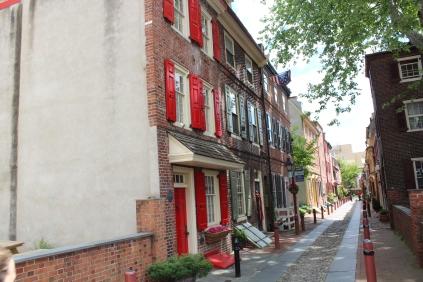 Elfreth's Alley.