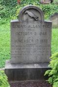 E.A. Poe's gravesite.