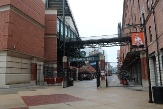 Some of the interior of Camden Yards.