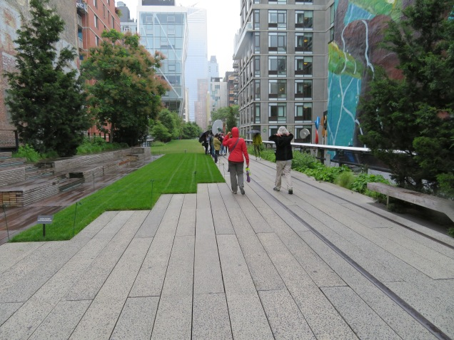 The High Line in downtown NYC.