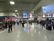 Inside Penn Station, not TOO busy...