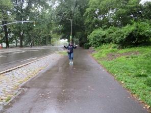 Rainy Central Park.