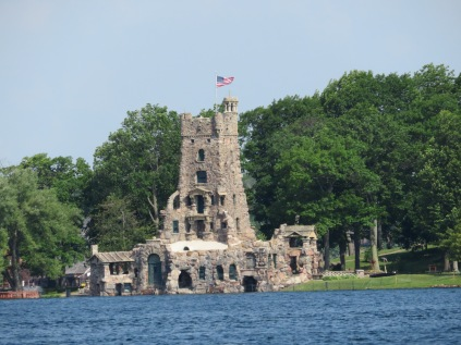 """Alster Tower of Boldt Castle. George built this I believe as an """"entertainment room"""" for his guests."""