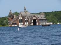 The Yacht House. It looks like George's boats lived better than I ever will...
