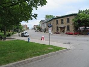 Beautiful downtown Ganonoque, Ontario.