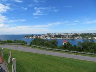 Viewing downtown Kingston from Ft. Henry.