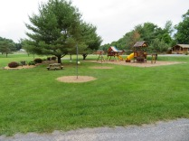 The playground area for the kiddies.