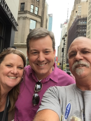 Our other new friend, found wandering down the road from the studio, Ed Henry, Chief National Correspondent for FOX News.