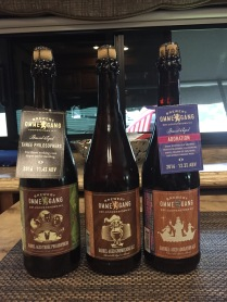 A little take home fare from Brewery Ommegang. Barrel aged, all 3, the Adoration is a bit sweet but still OUTSTANDING...