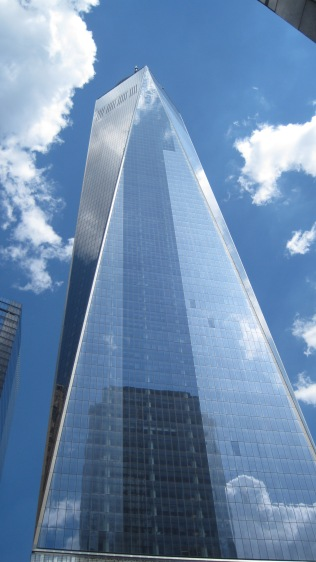 Freedom Tower, a little closer look.
