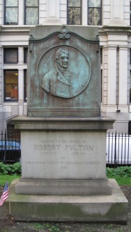Robert Fulton is another famous resident of Trinity. He was the developer for commercial steamboats.