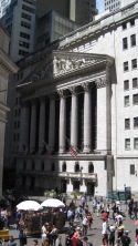 Front of the Stock Exchange.